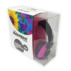 Headphone com Microfone Maxprint Neon 601208