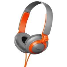 Headphone Sony MDR-XB200 Ajuste de Cabeça