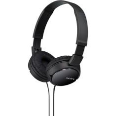 Headphone Sony MDR-ZX110 Dobrável Gerenciamento de chamadas