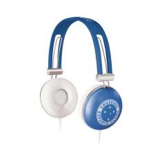 Headphone Waldman Soft Gloves Cruzeiro Ajuste de Cabeça