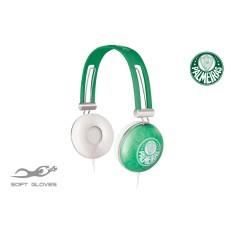 Headphone Waldman Soft Gloves Palmeiras Ajuste de Cabeça