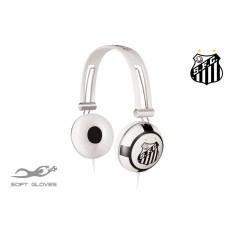 Headphone Waldman Soft Gloves Santos Ajuste de Cabeça