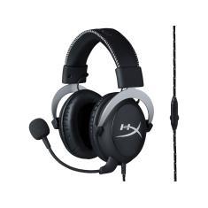 Headset com Microfone HyperX Cloud Silver
