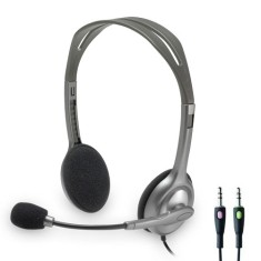 Headset com Microfone Logitech H110