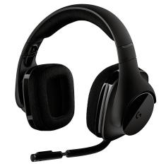 Headset Gamer Wireless com Microfone Logitech G533