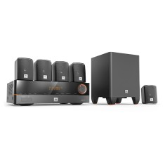 Foto Home Theater JBL 3D 375 W 5.1 Canais 5 HDMI J5100