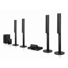 Home Theater LG com Blu-Ray 3D 1.000 W 5.1 Canais 2 HDMI LHB655