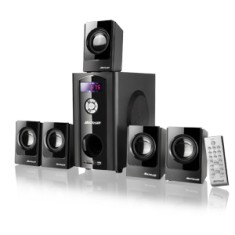 Foto Home Theater Multilaser 80 W 5.1 Canais SP110
