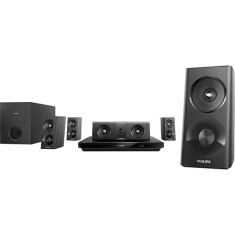 Foto Home Theater Philips com Blu-Ray 3D 1.000 W 5.1 Canais Karaokê 1 HDMI HTB3520X/78