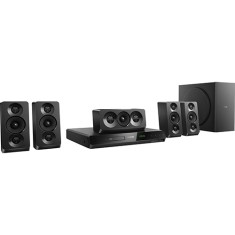 Foto Home Theater Philips com DVD 1.000 W 5.1 Canais Karaokê 1 HDMI HTD5520X/78