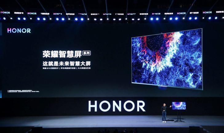 Honor lança primeira TV com sistema operacional HarmonyOS da Huawei