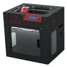 Impressora 3D 3D Cloner ST G3 Jato Plástico (PJP) Colorida