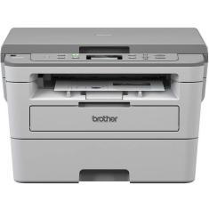 Impressora Multifuncional Brother DCPB7520DW Laser Preto e Branco Sem Fio