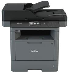 Impressora Multifuncional Brother MFC-L5902DW Laser Preto e Branco Sem Fio