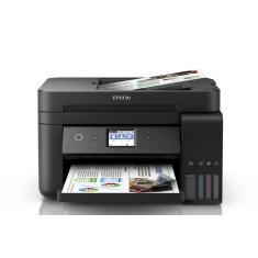 Impressora Multifuncional Epson Ecotank L6191 Tanque de Tinta Colorida Sem Fio
