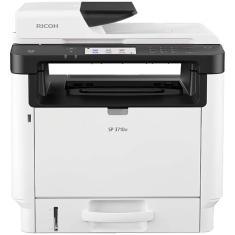 Impressora Multifuncional Ricoh SP 3710SF Laser Preto e Branco