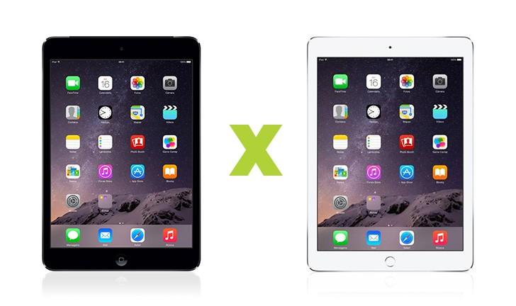 iPad Air 2 ou iPad Mini 3: qual comprar?