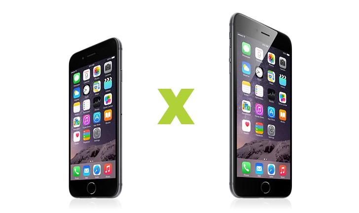 iPhone 6 e iPhone 6 Plus: veja as diferenças