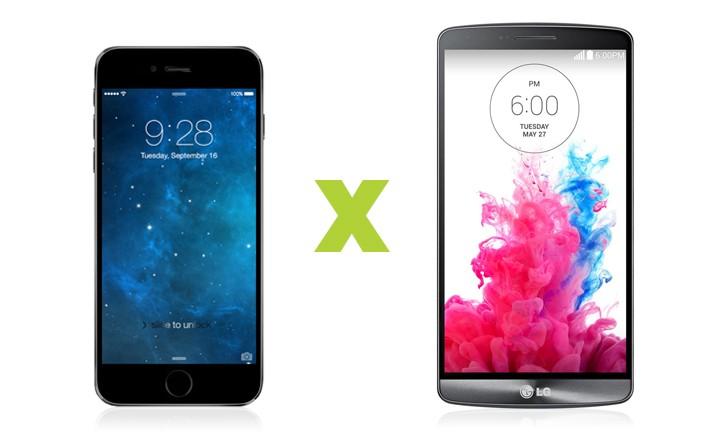 iPhone 6 ou LG G3, qual o melhor top de linha?