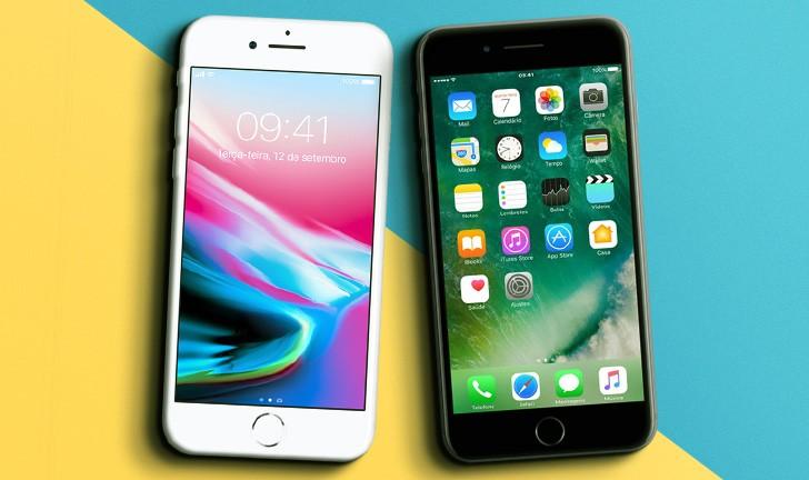 53e6bcd49 iPhone 8 Plus vs iPhone 7 Plus  qual versão do smartphone é a melhor para  comprar