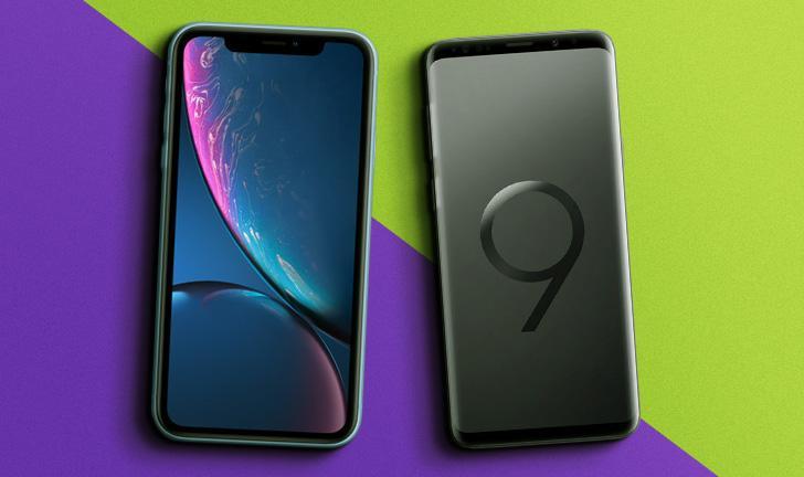 iPhone XR vs Galaxy S9: qual celular premium tem melhor ficha técnica?