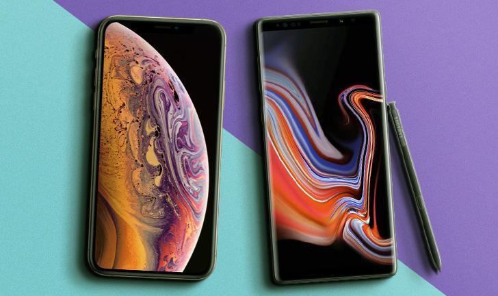 iPhone XS Max vs Galaxy Note 9: celulares disputam em preço e ficha técnica