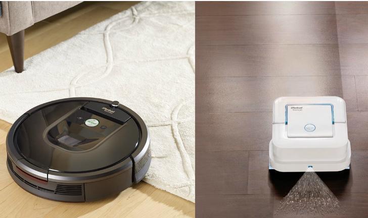 iRobot lança robôs que trabalham em conjunto para aspirar o pó e passar o pano