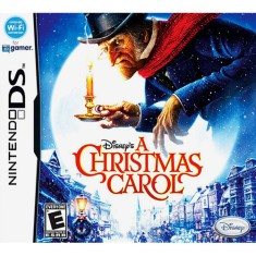 Jogo A Christmas Carol Disney Nintendo DS