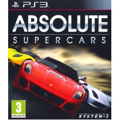 Foto Jogo Absolute Supercars PlayStation 3 System 3