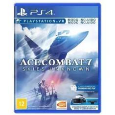 Jogo Ace Combat 7 Skies Unknown PS4 Bandai Namco