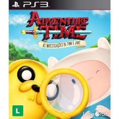 Foto Jogo Adventure Time: As Investigações de Finn e Jake PlayStation 3 Little Orbit