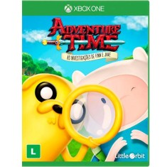 Foto Jogo Adventure Time As Investigações de Finn e Jake Xbox One Little Orbit