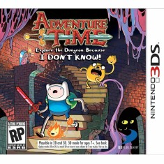 Foto Jogo Adventure Time: Explore the Dungeon Because I Don't Know! D3 Publisher Nintendo 3DS