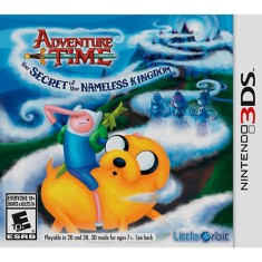 Foto Jogo Adventure Time: O Segredo do Reino Sem Nome Little Orbit Nintendo 3DS