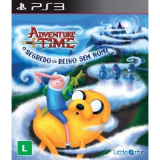 Foto Jogo Adventure Time: O Segredo do Reino Sem Nome PlayStation 3 Little Orbit