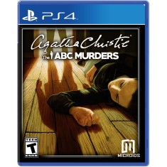Foto Jogo Agatha Christie The ABC Murders PS4 Microids