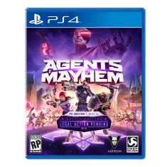 Foto Jogo Agents of Mayhem PS4 Deep Silver