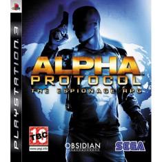 Jogo Alpha Protocol PlayStation 3 Sega