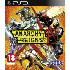 Foto Jogo Anarchy Reigns PlayStation 3 Sega
