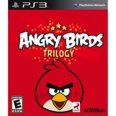 Foto Jogo Angry Birds Trilogy PlayStation 3 Activision