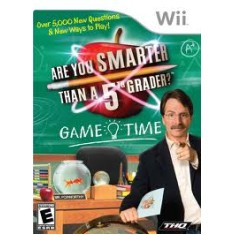 Foto Jogo Are You Smarter 5Th Grader GameTime Wii THQ