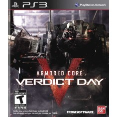 Foto Jogo Armored Core: Verdict Day PlayStation 3 Bandai Namco
