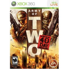 Foto Jogo Army Of Two 40th Day Xbox 360 EA