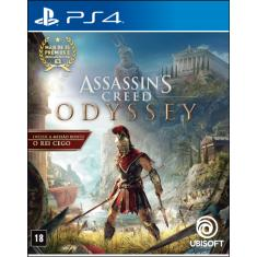 Jogo Assassin's Creed Odyssey PS4 Ubisoft