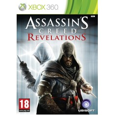 Foto Jogo Assassin's Creed Revelations Xbox 360 Ubisoft