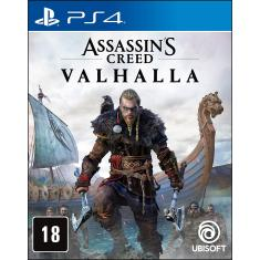 Jogo Assassin's Creed Valhalla PS4 Ubisoft