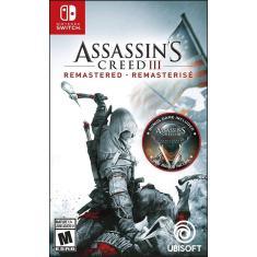 Jogo Assassins Creed 3 Remastered Ubisoft Nintendo Switch
