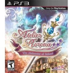 Foto Jogo Atelier Rorona: The Alchemist of Arland PlayStation 3 NIS