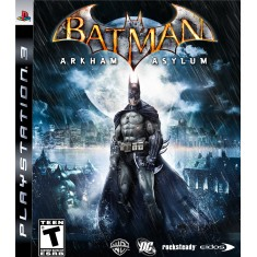 Foto Jogo Batman: Arkham Asylum PlayStation 3 Warner Bros