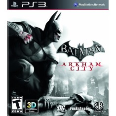 Foto Jogo Batman: Arkham City PlayStation 3 Warner Bros